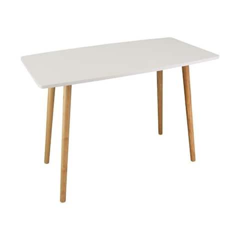 Carson Carrington Julasen Mid-century Style Wooden Desk