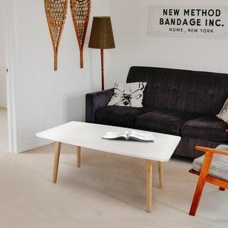 Carson Carrington Tammstorp Mid-century Style Wooden Coffee Table