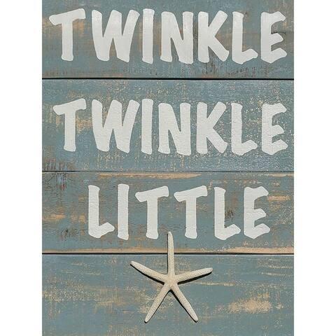CANVAS Twinkle Twinkle Little Starby Brandi Fitzgerald