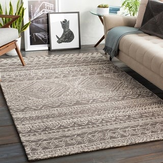 The Curated Nomad Harold Handmade Global Geometric Area Rug