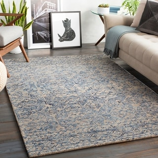 The Curated Nomad Ruthelen Handmade Tribal Area Rug