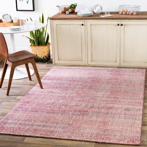 Eldon Hand Tufted Solid Area Rug
