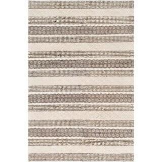 Fila Hand Woven Farmhouse Wool Area Rug