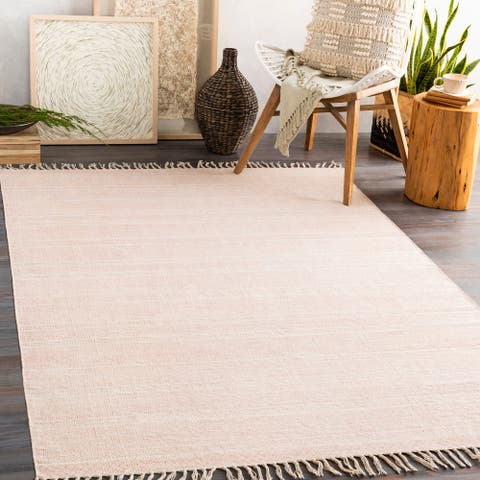 Carson Carrington Ivarsbyn Handmade Moroccan Cotton Area Rug