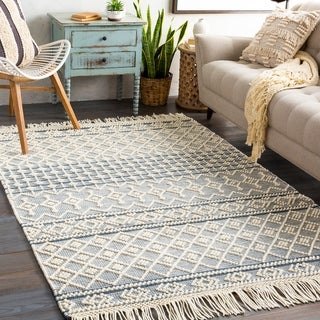 Capetian Handmade Modern Farmhouse Wool Area Rug
