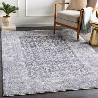 Darshawn Vintage Traditional Area Rug