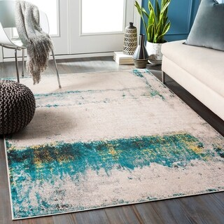 Naomi Industrial Abstract Area Rug