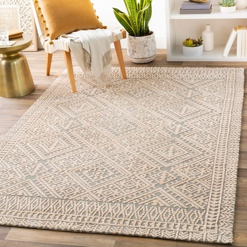 Paulie Geometric Tribal Area Rug