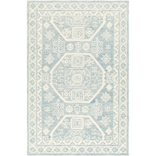 Link to Tomasson Handmade Boho Medallion Wool Area Rug Similar Items in Transitional Rugs