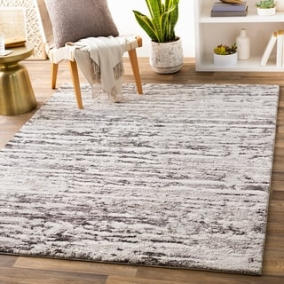 Carson Carrington Storuman Plush Striped Area Rug