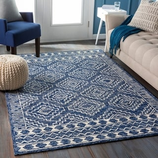 Link to Seedorf Handmade Tribal Wool Area Rug Similar Items in Transitional Rugs