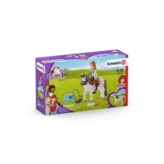 Schleich, Horse Club, Mia & Spotty Toy Figurine Playset