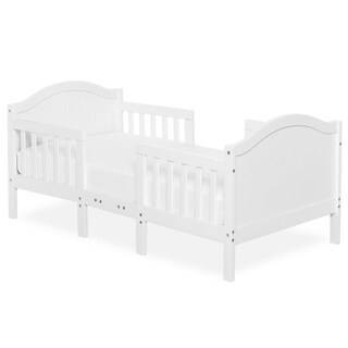Dream On Me Portland 3 in 1 convertible toddler bed White