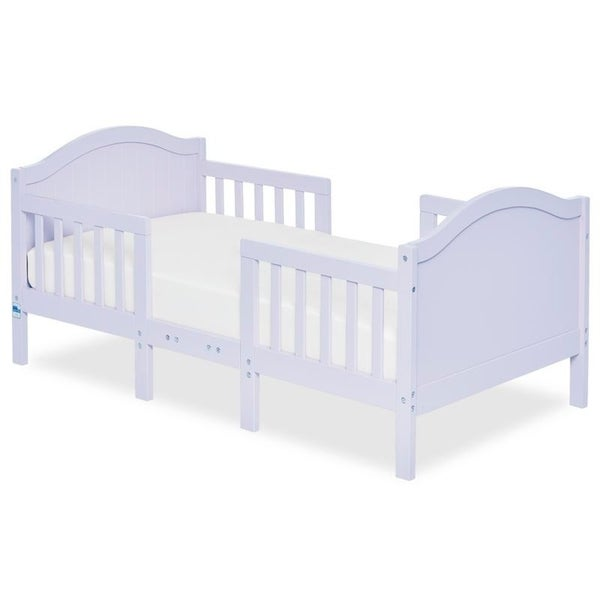 Dream On Me Portland 3 in 1 convertible toddler bed Lavender Ice