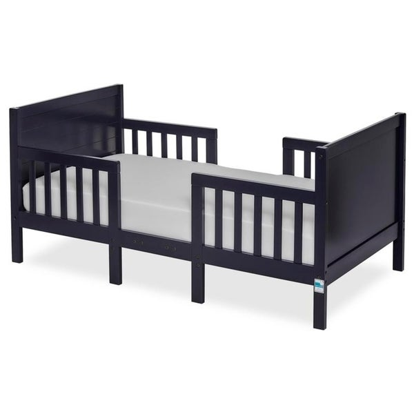 Dream On Me Hudson 3 in 1 Convertible Toddler Bed Navy
