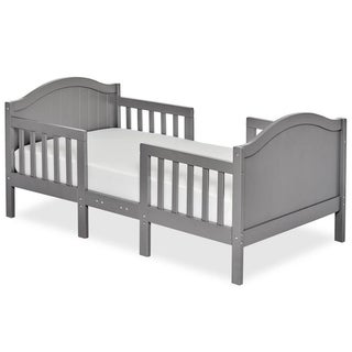 Dream On Me Portland 3 in 1 convertible toddler bed Steel Grey