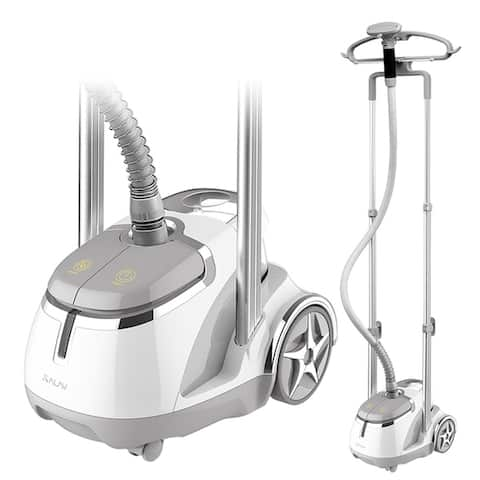 SALAV GS45-DJ Professional Garment Steamer w/ Foot Pedals, Refurbished