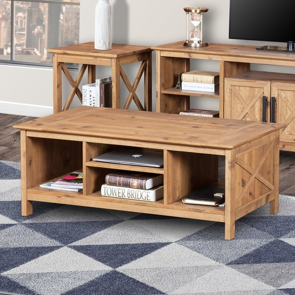 Carbon Loft Cuthbertson 44-inch Wide Coffee Table