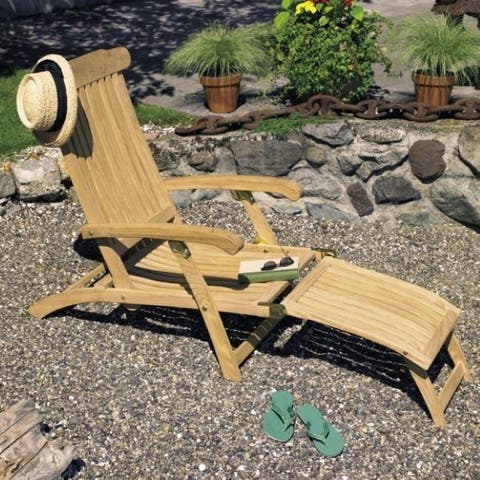 Roble Wood Steamer Chair
