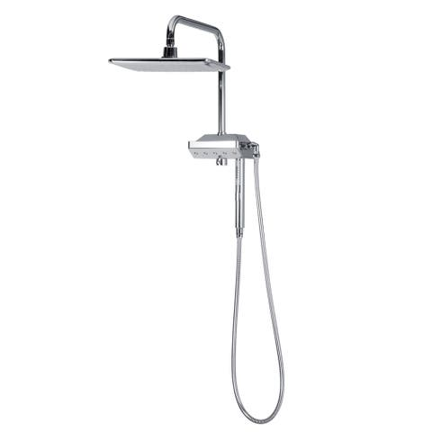 AquaPower Shower System in Chrome