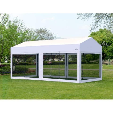 10' X 20' Easy Pop Up Canopy Party Tent Heavy Duty Garage Car Shelter