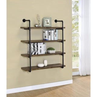 Carbon Loft Condou Black Metal 40-inch Wall Shelf