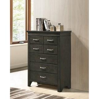 Spengler Bark Wood 5-drawer Chest