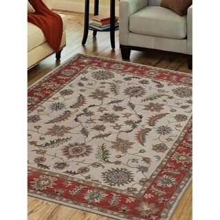 Stunning! Oriental Hand Tufted Carpet Traditional Indian Wool Area Rug