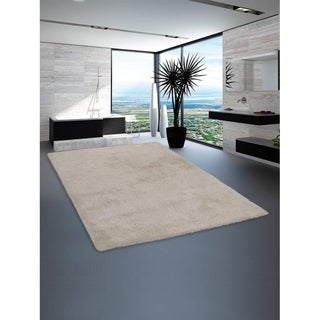 Modern Hand Tufted Shag Carpet Indian Oriental Solid Color Area Rug