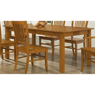Crume Sienna Brown Rectangle Dining Table