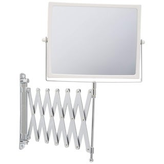 8.3-Inch Two-Sided Swivel Wall Mount Mirror with 5x Magnification