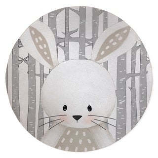 BUNNY FOREST Area Rug By Kavka Designs