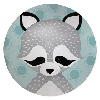 RACOON TEAL Area Rug By Kavka Designs