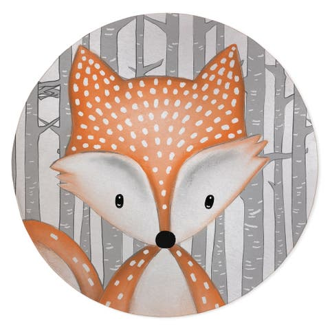 FOX FOREST Area Rug by Kavka Designs