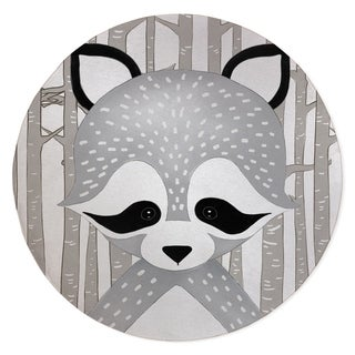 RACOON FOREST Area Rug By Kavka Designs