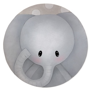 ELEPHANT NEUTRAL Area Rug By Kavka Designs