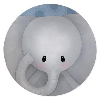 ELEPHANT BLUE Area Rug By Kavka Designs