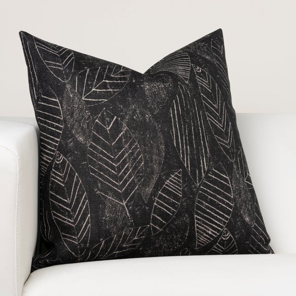 Ernest Hemingway Palm Shadow Designer Throw Pillow. Opens flyout.