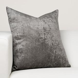 Ernest Hemingway Nile Charcoal Designer Throw Pillow