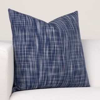 Ernest Hemingway Outrigger Blue Designer Throw Pillow