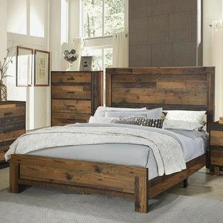Carbon Loft Romang Rustic Pine Bed
