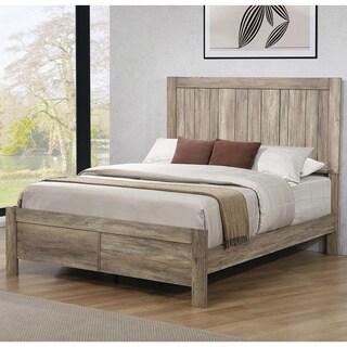 Carbon Loft Wyverna Rustic Oak Bed