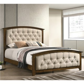 Copper Grove Dolyna Brown and Beige Bed