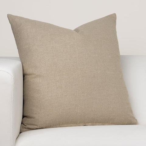 Ernest Hemingway Legend Khaki Designer Throw Pillow