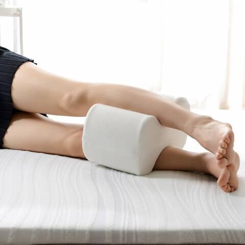 Maison condelle- memory Foam Leg Pillow - White
