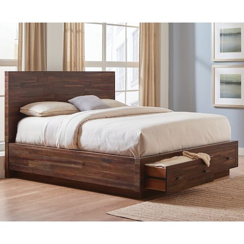 Carbon Loft Marat Varied Coffee 5-piece Bedroom Set
