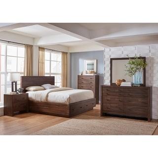Carbon Loft Marat Varied Coffee 4-piece Bedroom Set