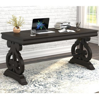 Gracewood Hollow Desai 1-drawer Rectangular Coffee Table with Trestle Base