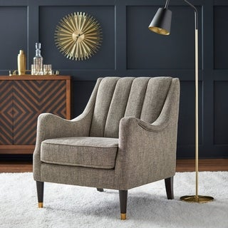Lifestorey Charisse Channelback Accent Chair
