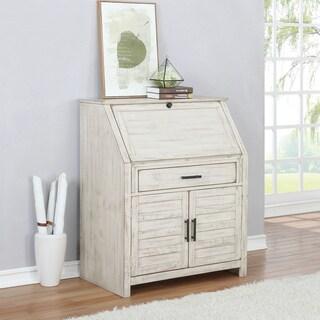 The Gray Barn Blue Iris 2-door Secretary Desk with Power Outlet
